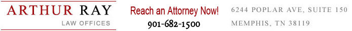Arthur Ray Law Offices - 6244 Poplar Ave, Suite 150 / Memphis, TN 38119